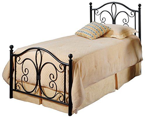 Hillsdale Furniture 1014BTWR Hillsdale Milwaukeebed With Bed Frame, Twin, Antique Brown