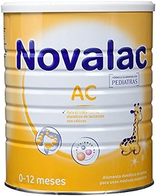 NOVALAC AC - Leche infantil formulada especialmente para bebés de 0 a 12 meses, lactantes con cólicos. 800G: Amazon.es: Alimentación y bebidas