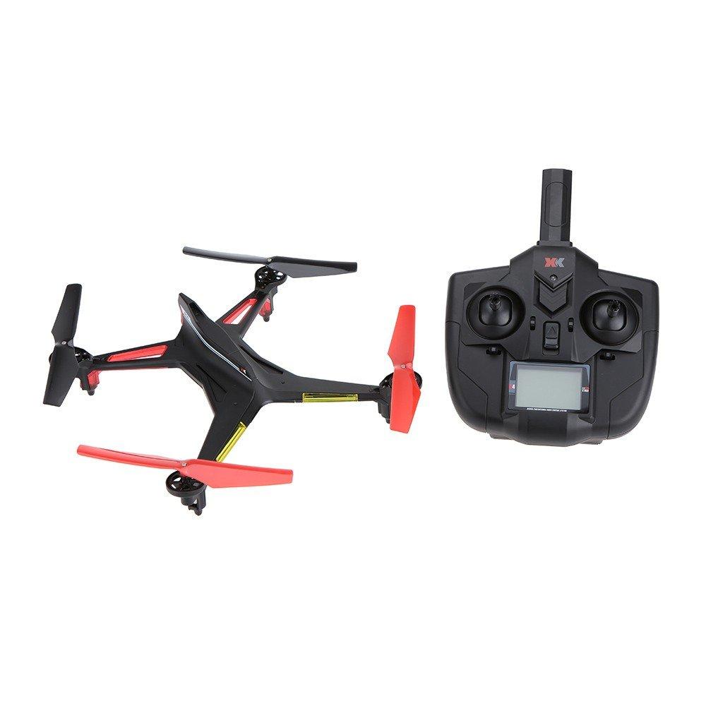 Ocamo Drone Quadcopter Avión de Control Remoto sin cámara con Función de Retorno con un Clic,2.4GHz 4CH 6-Axis,XK X250