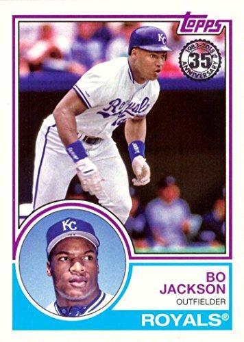 2018 Topps 1983 Topps Design #83-89 Bo Jackson Baseball Card ()