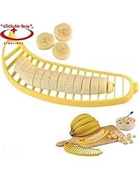Favor *CTB* Cute Banana Slicer , Chopper Cutter Vegetable Tools , Fruit Salad Sundaes Cereal kitchen accessories gadget... occupation