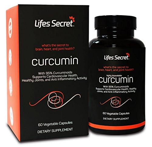 Turmeric Curcumin 1300mg Standardized 95% Curcuminoids wi...
