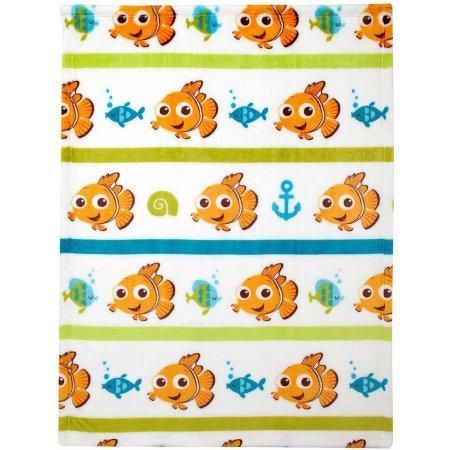 Disney Nemo Plush Printed Blanket