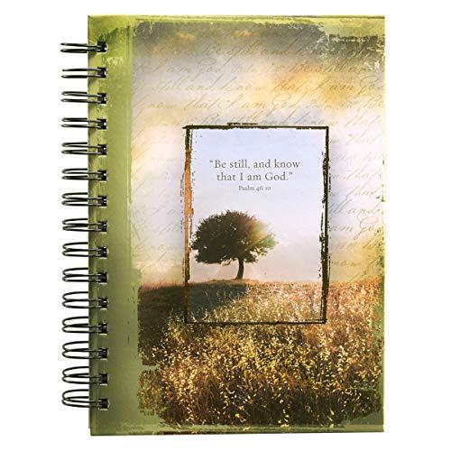 - Psalm 46:10 Hardcover Wirebound Journal