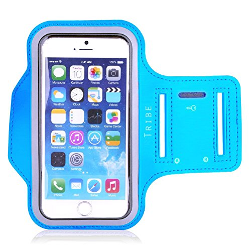 Tribe Water Resistant Sports Armband with Key...