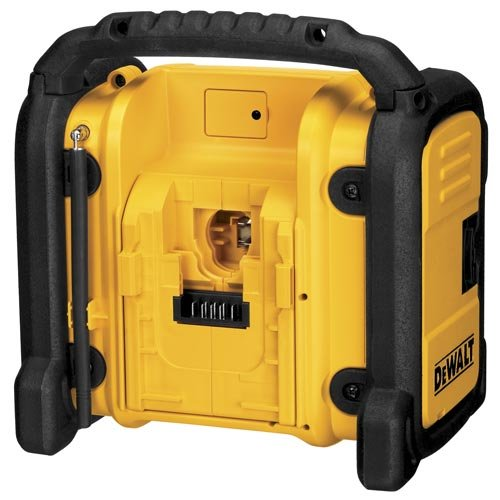 dewalt dcr018 18v 12v 20v max compact worksite radio. Black Bedroom Furniture Sets. Home Design Ideas