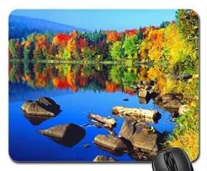 Autumn morning Mouse Pad, Mousepad (Lakes Mouse Pad)