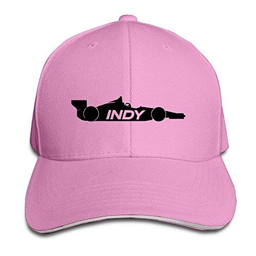 HAOHAO Indy Race Car Adjustable Snapback Hats Baseball Peaked Caps