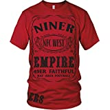 Niner Empire Red & Black T-Shirt (5X-Large)