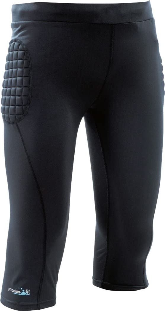 Only Sports Gear Precision Padded Base-Layer G.K 3//4 Pants Senior Football Soccer ***New