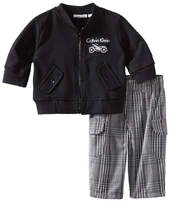Amazon Com Calvin Klein Baby Boys Newborn Jacket With