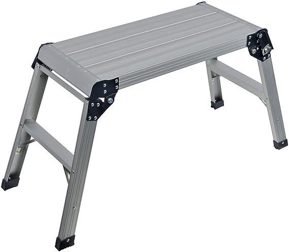 Silverline 640000 - Escalera plegable (150 kg de carga): Amazon.es: Bricolaje y herramientas