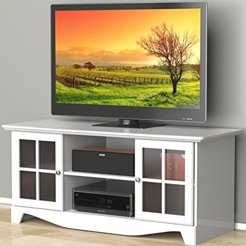 Pinnacle 56-inch TV Stand 101203 from Nexera - White
