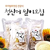 Brown rice flour not fried rice Rice Chip 185g 4 bags Product of Korea