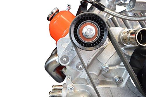 - LS1 98-02 Camaro Z28 Manual Belt Tensioner w/ Pulley LS LS2 GTO Billet Aluminum 551617X-2