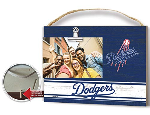 KH Sports Fan Clip It Colored Logo Photo Frame Los Angeles Dodgers ()