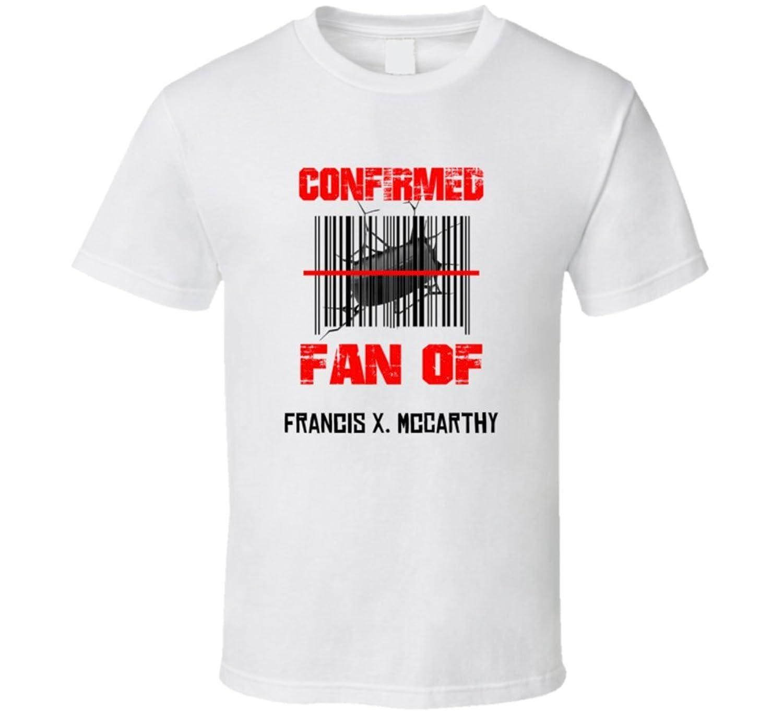 Francis X. McCarthy NHL Scanned Barcode Fan T shirt 2XL White