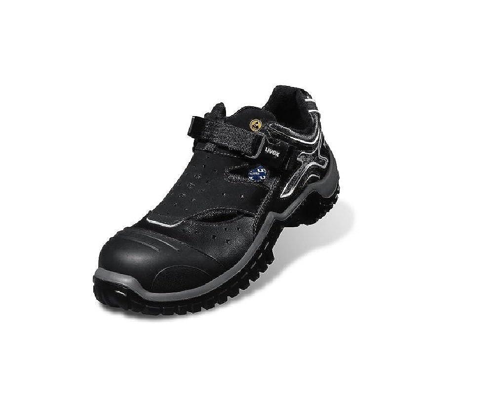 Uvex Sicherheitsschuhe Xenova NRJ Sandale 6911 S1 49 49 49 Schwarz Grau B006JT88JQ  34b7f8