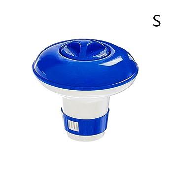 zeroyoyo piscina Spa cloro bromo química Tablet pestañas Floater dispensador cloro flotante ajustable