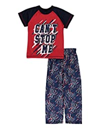 "Mac Henry Little Boys' ""Can't Stop Me"" 2-Piece Pajamas"