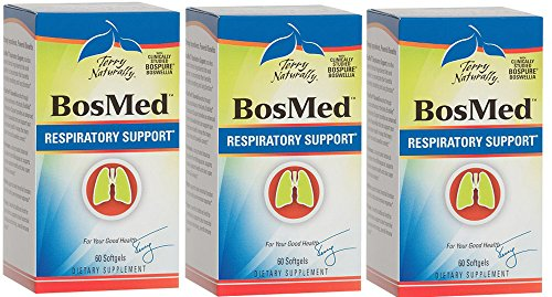 Europharma/Terry Naturally -BosMed Respiratory Support |60 Softgels, 3 Pack For Sale
