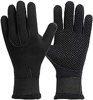 Faruxue 1Pair 3MM Diving Glove for Men and Women Neoprene Gloves Thermal Anti-Slip Gloves Swim Kayaking Gloves