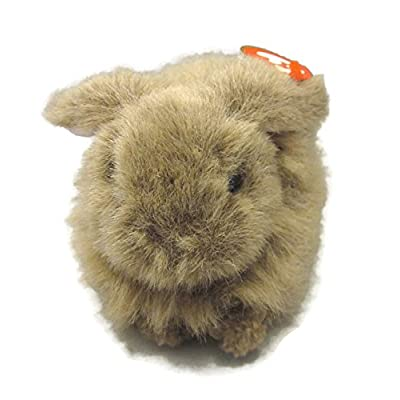 TY Classic Plush - NIBBLES the Brown Rabbit