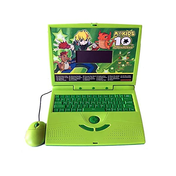 Notebook PC Keyboard Educational Toys Girls Toy Toddler Learning English Maths