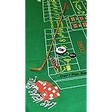 "Craps Starter KIT 42"" DICE Stick Felt DICE Boat ON/Off Puck 5 Real Casino DICE"