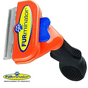 Medium Dog Brush Short Hair FURminator Grooming Tool Comb 21-50Lbs