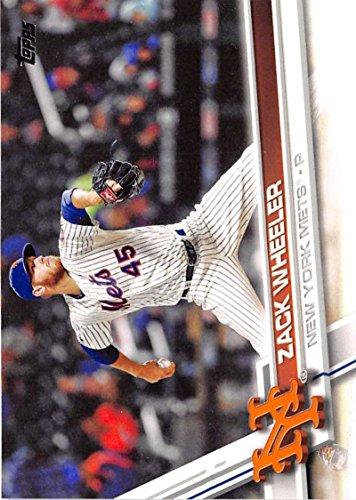 2017 Topps Series 2 #631 Zack Wheeler New York Mets Baseball Card