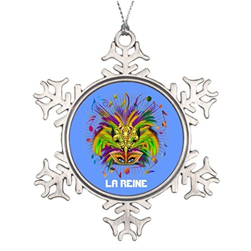 hanjear59 Ideas for Decorating Christmas Trees Mardi Gras Queen Style 3 View Notes PLSE Christmas Personalized Snowflake Ornaments Tree Decor Competitions ()