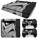 FriendlyTomato PS4 Slim Console and DualShock 4 Controller Skin Set - SuperHero - PlayStation 4 Vinyl