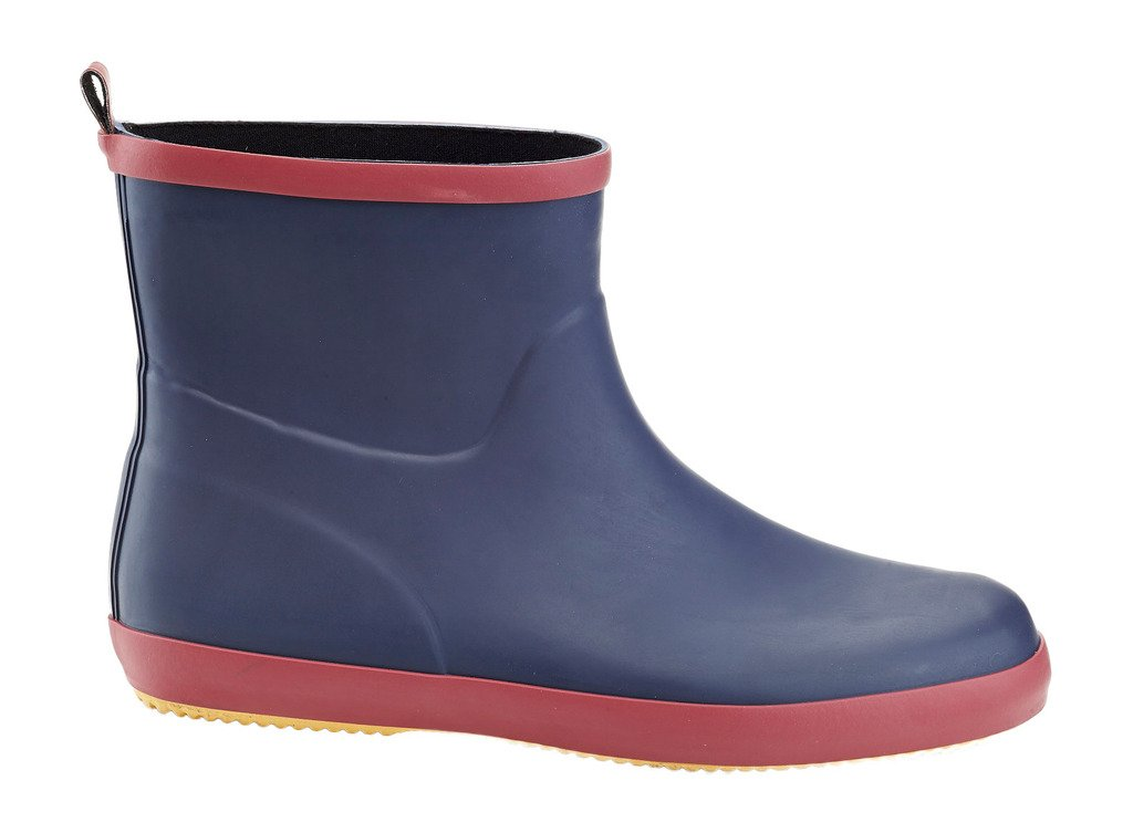 Solo Mens Ever Dry Low Cut Rubber Water Resistant Rain Boot Blue 12 by Unknown