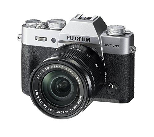 Fujifilm X Series X-T20 Mirrorless Digital Camera (Silver) 4