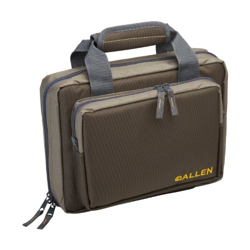 Allen Tactical Duoplex Two Handgun Attache Case, 9x11.5""