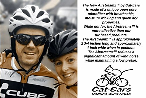 Cat Ears AirStreamz Cycling Wind Noise Reducer