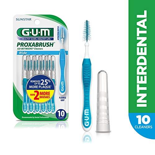 GUM Proxabrush Go-Betweens Interdental Brushes