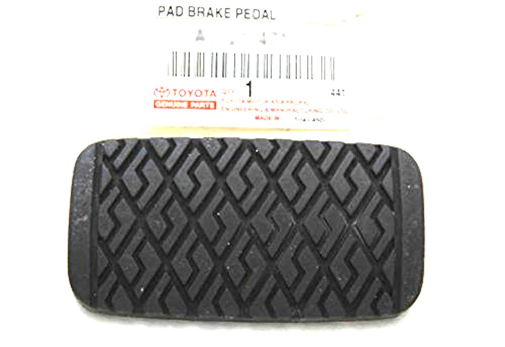 Toyota Corolla Brake Pedal Pad GENUINE OEM NEW