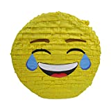 Laughing Emoji Pinata, Party Game, Centerpiece Decoration and Photo Prop