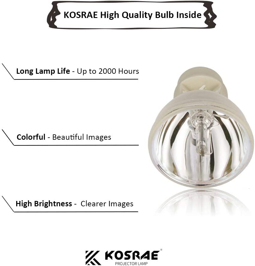 KOSRAE 20-01501-20 Projector Lamp Bulb for SMARTBOARD 480i5 880i5 885i5 SB880 SLR40Wi UF75 UF75w Unifi 75 Unifi 75w Replacement(Economical)