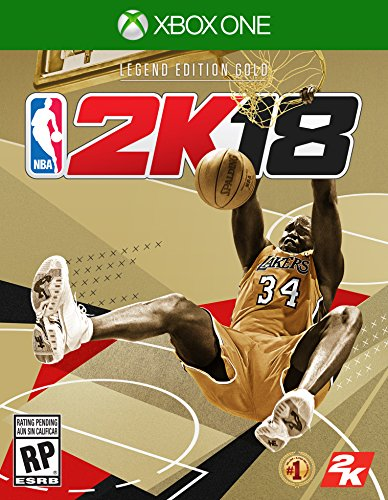 NBA 2K18 Legend Edition Gold by Take Two