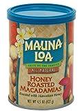 Mauna Loa Macadamias, Honey Roasted, 4.5 Ounce (Pack of 2)