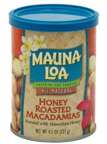 Mauna Loa Macadamias, Honey Roasted, 4.5 Ounce (Pack of 2) by Mauna Loa (Image #1)