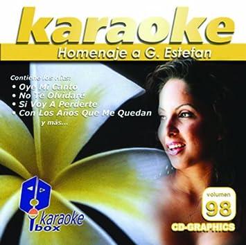 Various Kbo 98 Homenaje A G Estefan Karaoke Music