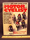 1980 80 June MOTORCYCLIST Magazine (Features: Test on Yamaha XT250, & Full Dress Face Off: BMW R100 RT, Harley Davidson FLT 80 Tour Glide, Honda GL1100 Gold Wing Interstate, Kawasaki KZ1300 A2, Suzuki GS850 GT, & Yamaha XS1100 G)
