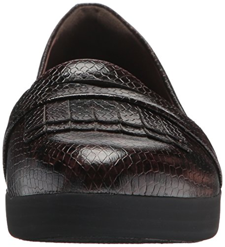 FitFlop Chocolate Ballet FRINGEY Snake Sneakerloafer Flat Women's 60q0znpwf