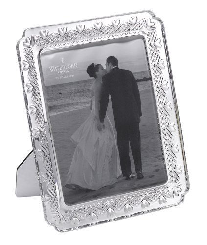 Waterford Wedding Heirloom 8 x 10 Frame by Waterford Crystal Crystal Heirloom Frame