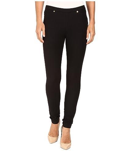 e2a3988c547 Amazon.com  Michael Michael Kors Womens Stretch Pull On Leggings Black M   Everything Else