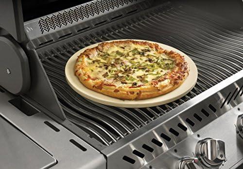 70001 New Napoleon PRO Pizza Stone with Pizza Wheel